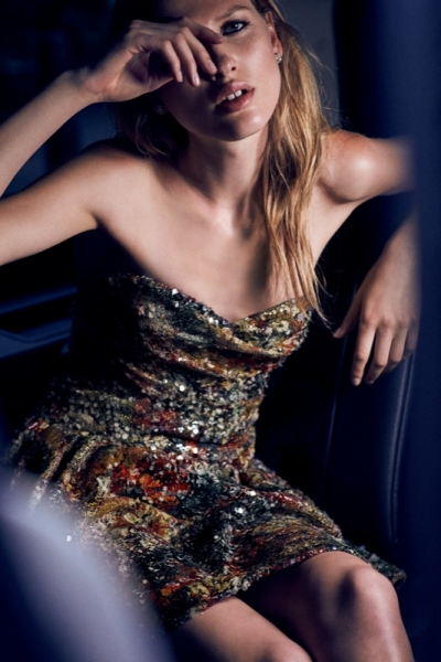Laura Julie Models Dreamy Marchesa Notte Dresses for ...