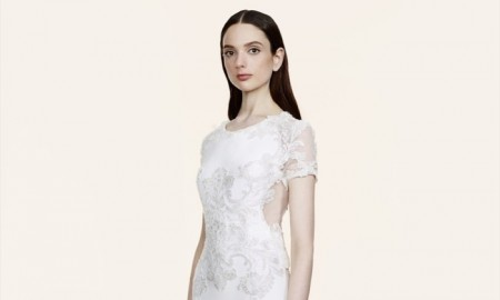 MARCHESA RESORT 2016: Marchesa already has its own bridal line, but this resort 2016 dress in white could also double as the perfect wedding dress.