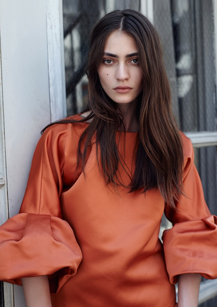 Marine Deleeuw Wears Summer Style for Glass by Eric Guillemain
