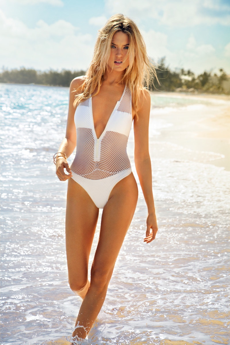 Martha Hunt Sizzles in Ocean Drive Cover Story by Randall Slavin
