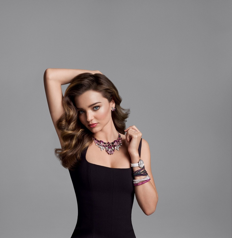 Miranda Kerr for Swarovski fall-winter 2015 campaign