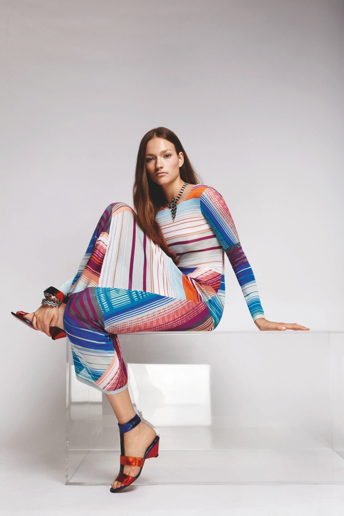 A look from Missoni's resort 2016 collection
