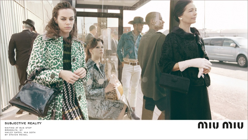 An image from Miu Miu's fall-winter 2015 advertising campaign