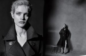 Natalia Vodianova Stuns in Black & White for Dior Magazine