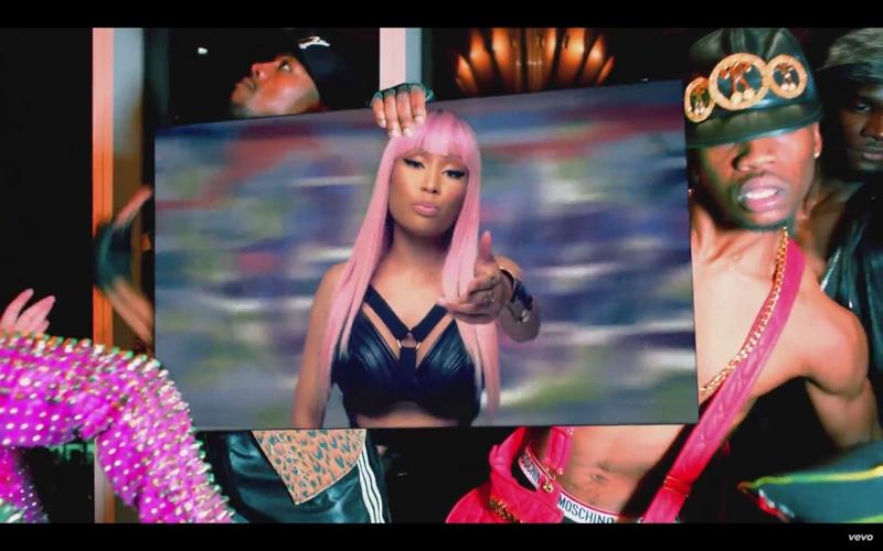 Nicki Minaj in Bitch I'm Madonna music video