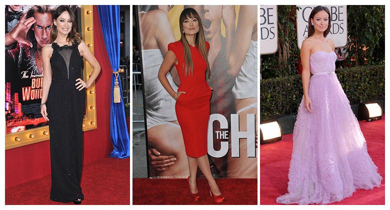 Top 10: Olivia Wilde's Best Red Carpet Looks