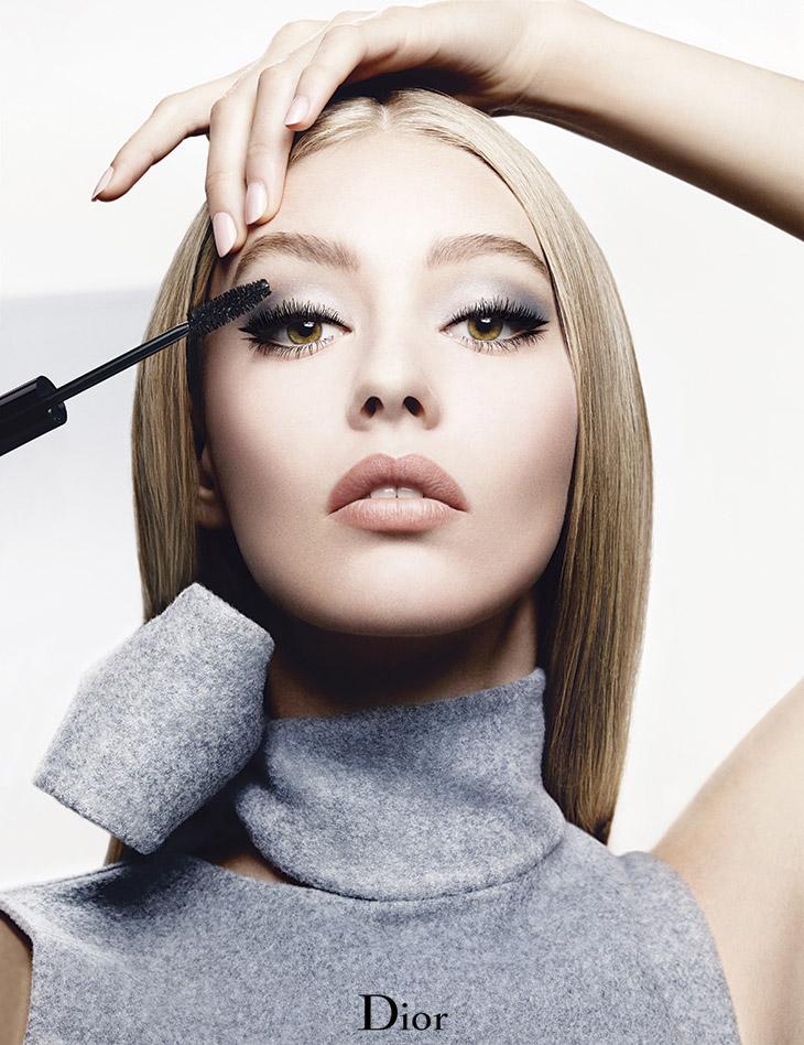 Ondria Hardin For Diorshow Mascara Campaign