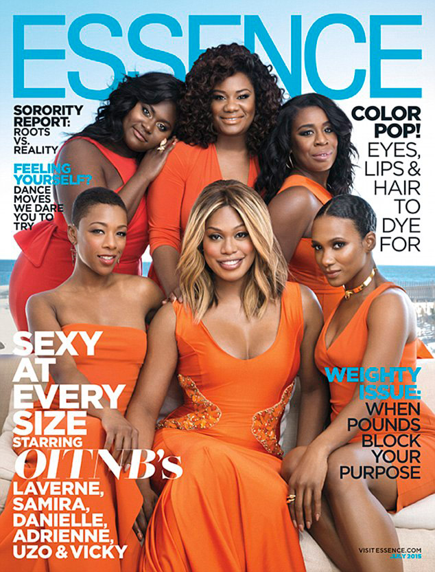 The cast of Orange is the New Black covers Essence Magazine's July 2015 issue
