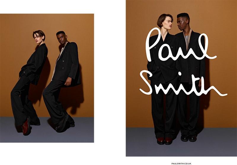 Saskia de Brauw Stars in Paul Smith Fall 2015 Campaign