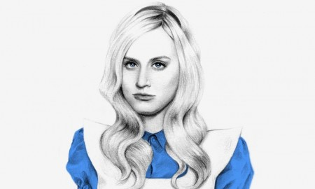 Piper Chapman as Alice from 'Alice in Wonderland'