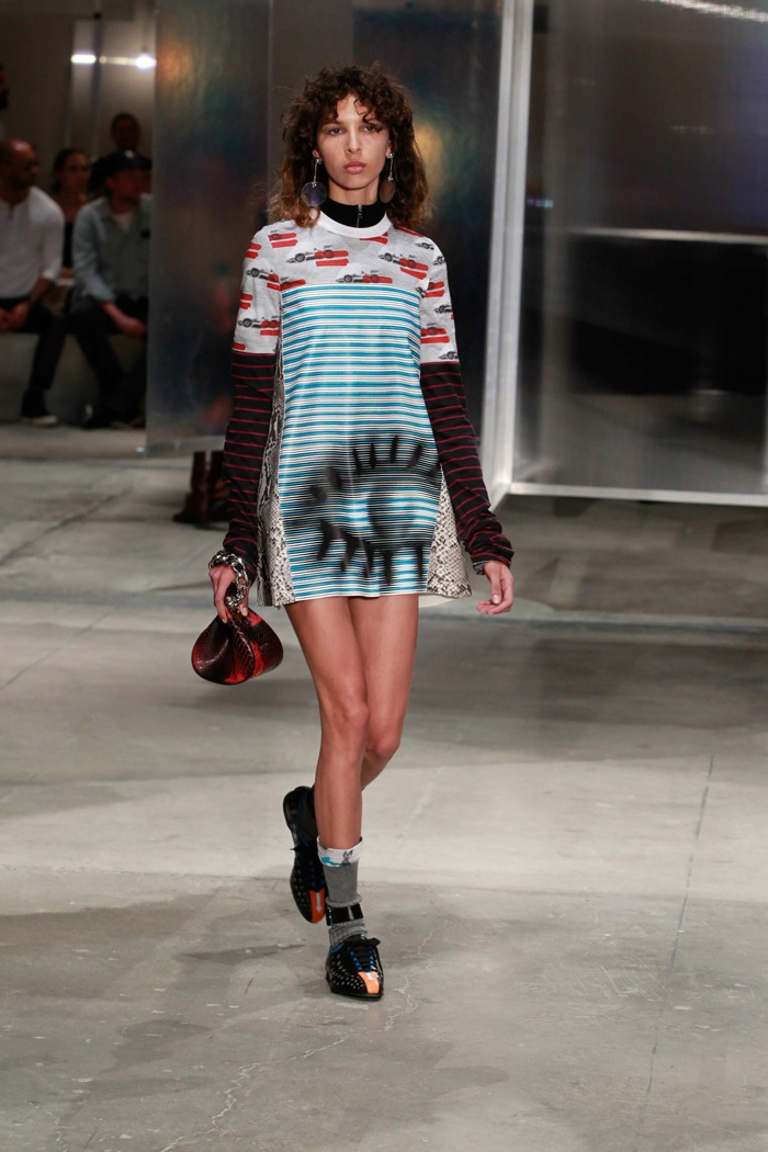 A look from Prada's resort 2016 collection