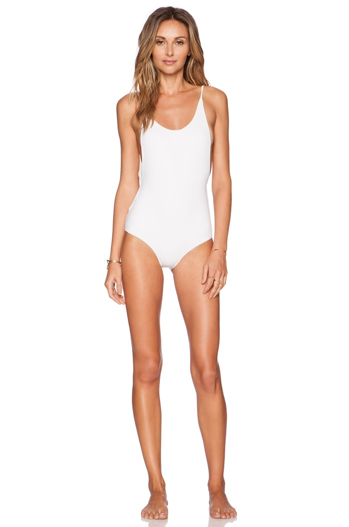 Rachel Pally 'Honor' Swimsuit in White available for $176.00