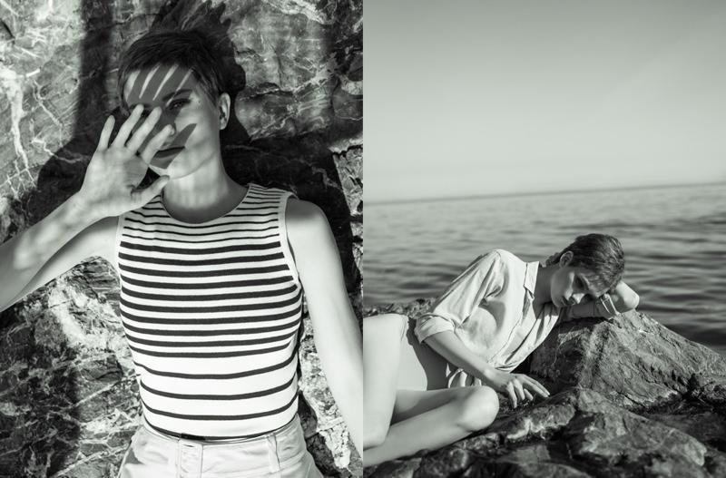 Retro Summer: Benthe de Vries by Ahmet Unver in L'Officiel Turkey