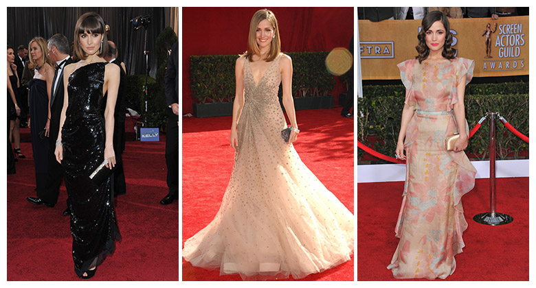 Through the years, Rose Byrne has had some stunning red carpet looks. Photo: Shutterstock.com