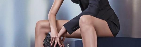 Sara Sampaio Flaunts Her Legs in Cesare Paciotti's Fall 2015 Ads