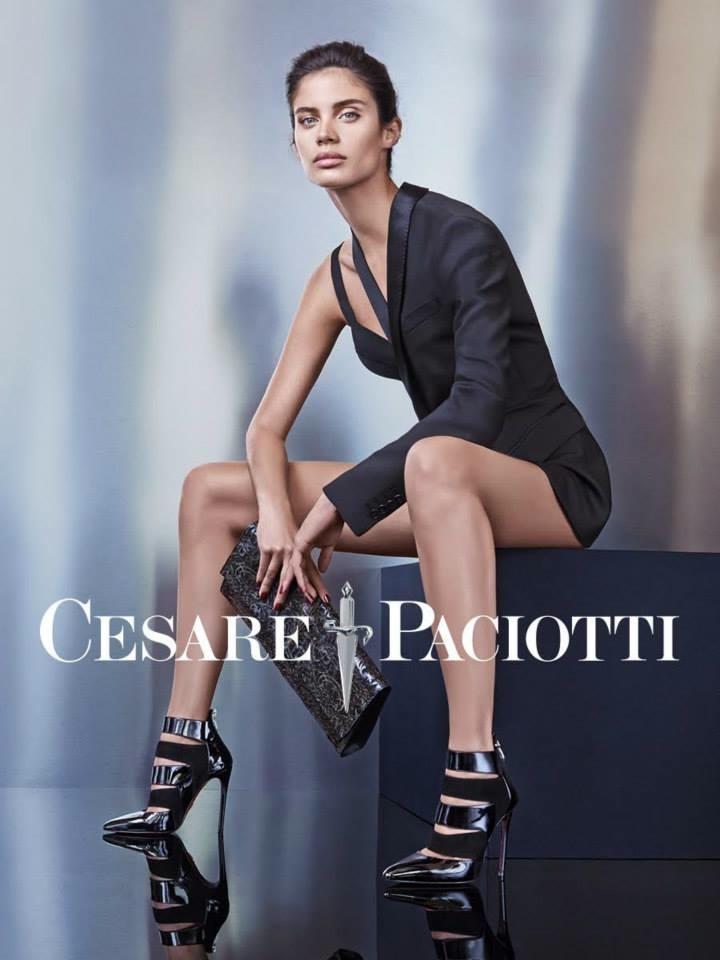 Cesare Paciotti Fall Winter 2015 Ad Campaign With Sara Sampaio