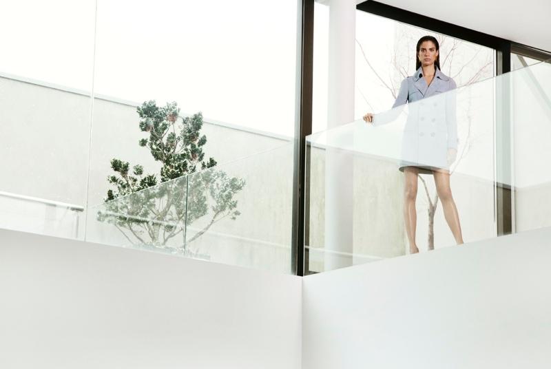 Sara Sampaio stars in a fashion editorial for Harper's Bazaar Greece
