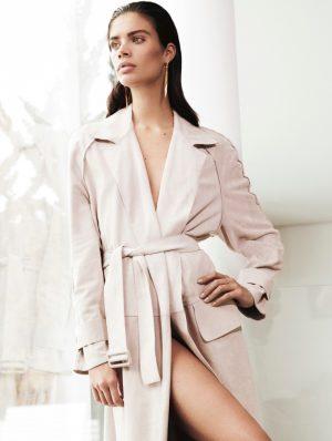 Sara Sampaio is Perfectly Elegant in Editorial for Harper's Bazaar Greece