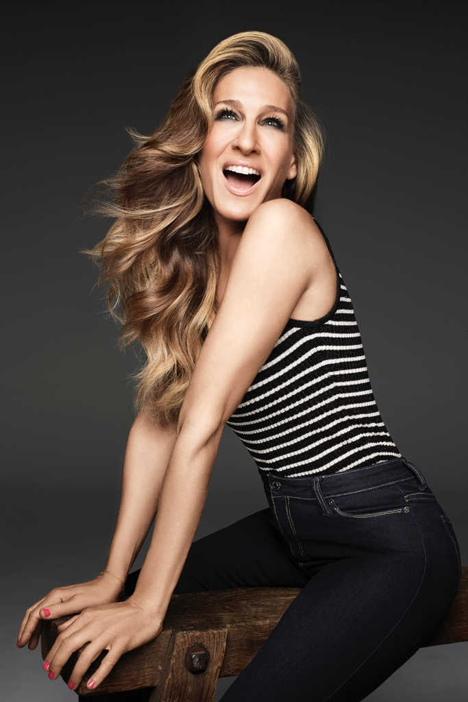 Sarah Jessica Parker Gets Glam in Jordache Jeans Ads