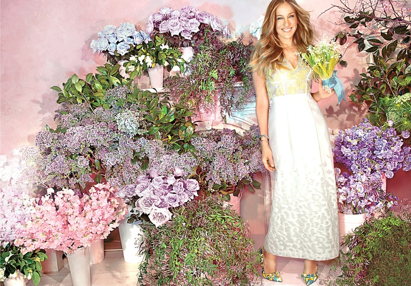 The actress is making a bridal line of shoes for her namesake label, SJP