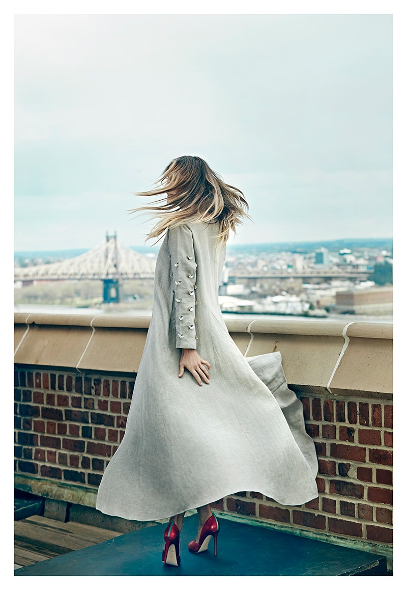 Sarah Jessica Parker Wears Shoe Collection in anaZahra Shoot by An Le