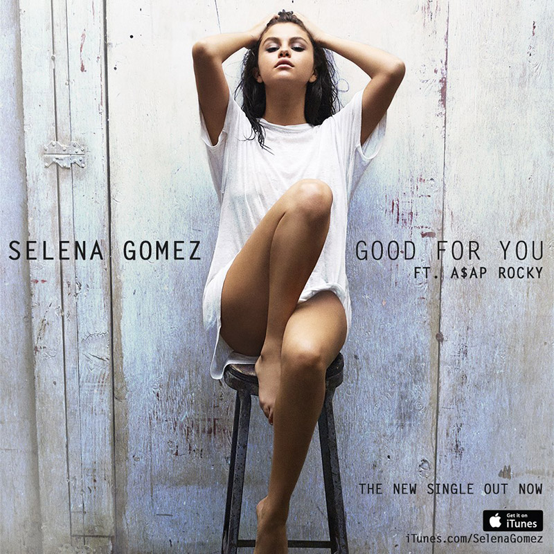 Selena Gomez Lounges in 'Good for You' Music Video