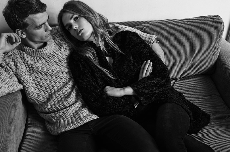 Caroline Brasch Nielsen & Benjamin Eidem star in SET's fall-winter 2015 campaign