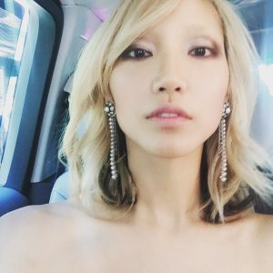 Soo Joo Park Gets Blue Hair – See the Images