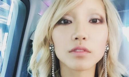 Model Soo Joo Park. Photo via Instagram.