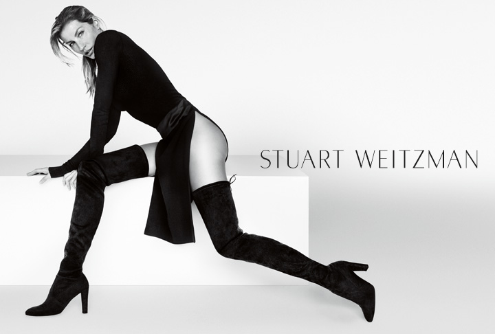 Gisele Bundchen for Stuart Weitzman Fall-Winter 2015 Campaign