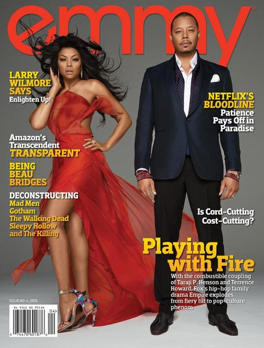 Taraji P. Henson and Terrence Howard cover Emmy Magazine