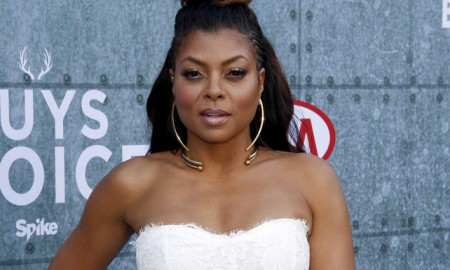 BEFORE: Taraji P Henson with black hair at the Guy's Choice Awards in 2015. Photo: Tinseltown / Shutterstock.com