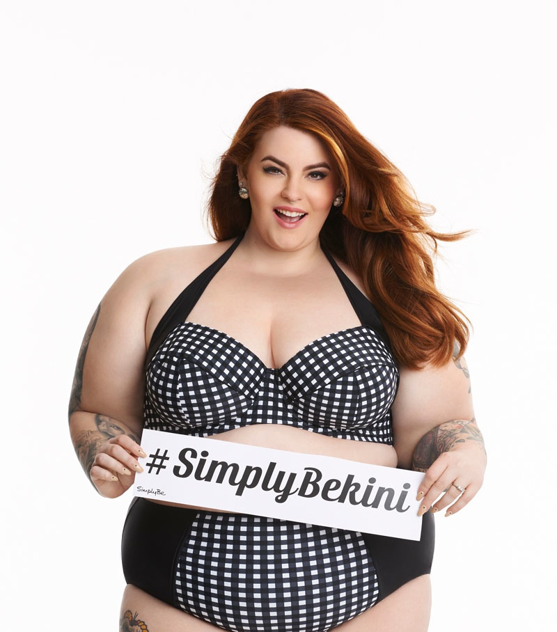 Tess' new advertisements show that a bikini body can happen at any size