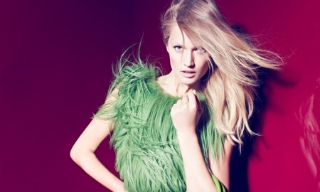 Toni Garrn stars in Aigner's fall-winter 2015 advertising campaign