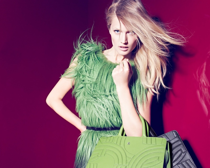 Toni Garrn stars in Aigner's fall-winter 2015 advertising campaign