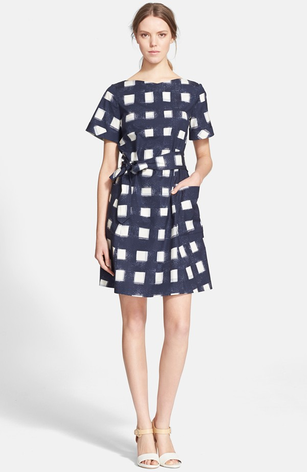 93f3067f970 Tanya Taylor  Monica  Gingham Fit   Flare Dress available  495.00. Tory  Burch Print Poplin Gingham Shirtdress available for  325.00