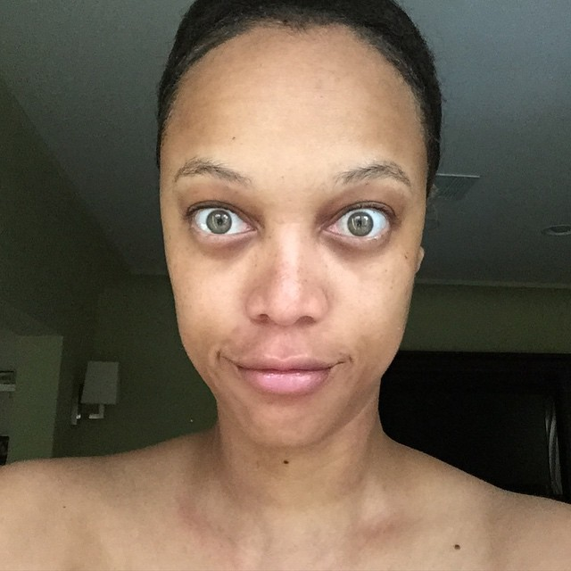 brooklyn decker no makeup · tyra banks goes without makeup in insram snap ...