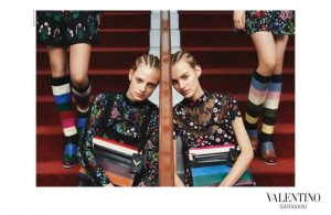 Valentino Gets into the Bohemian Spirit for Pre-Fall 2015 Ads