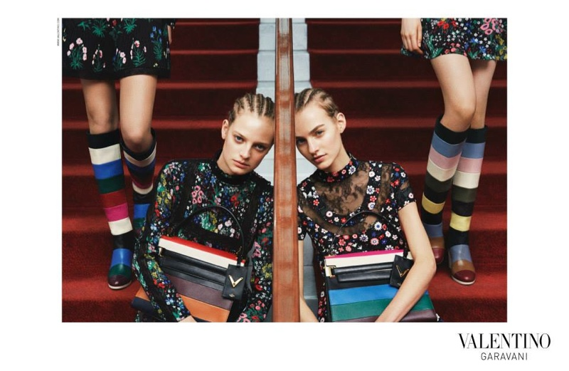 Valentino pre-fall 2015 advertisement