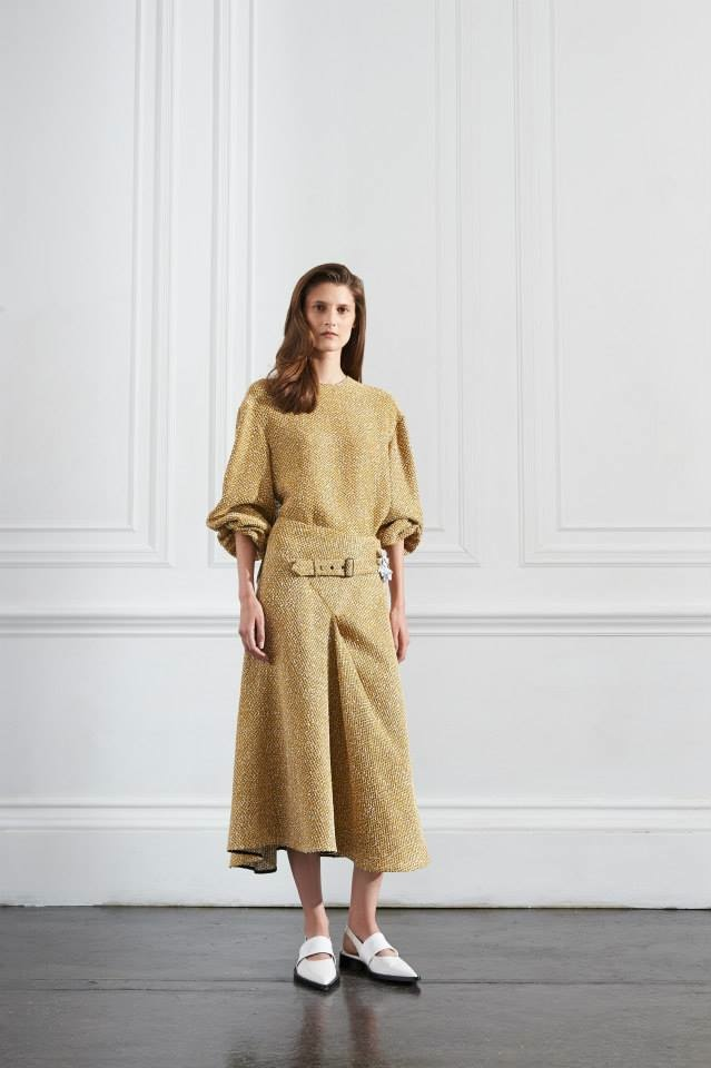 A look from Victoria Beckham's resort 2016 collection