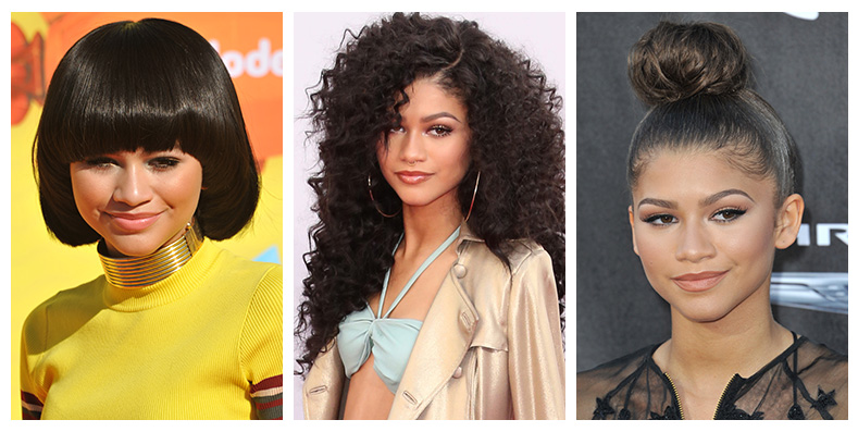 Zendaya is not afraid to switch up her hairstyle on the red carpet. Photo: Shutterstock.com
