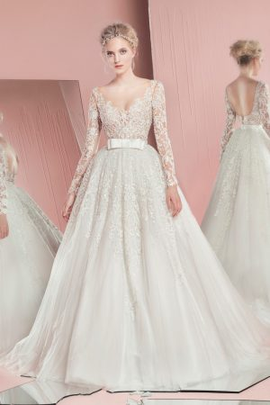 See All the Looks from Zuhair Murad's Spring 2016 Bridal Collection