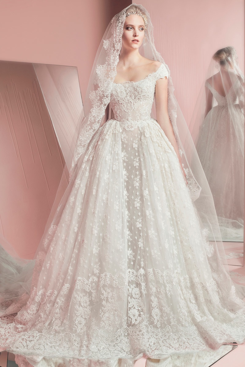 6c3490cdbb See All the Looks from Zuhair Murad s Spring 2016 Bridal Collection