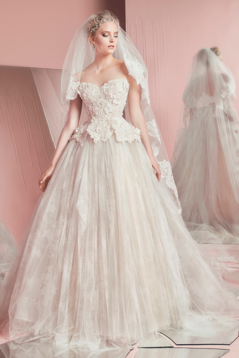 Zuhair murad bridal spring 2016 collection08 for Wedding dresses 2016 collection