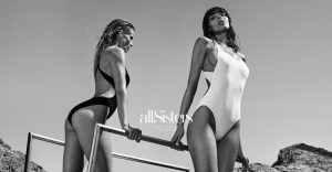 Fanny François & Sabrina Nait Pose for allSisters Swimwear Campaign