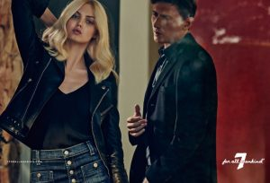 Lindsey Wixson Goes Super Blonde in 7 for All Mankind Fall Ads