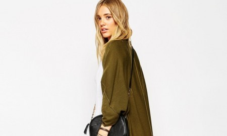 ASOS Long Cape Cardigan available for $62.70
