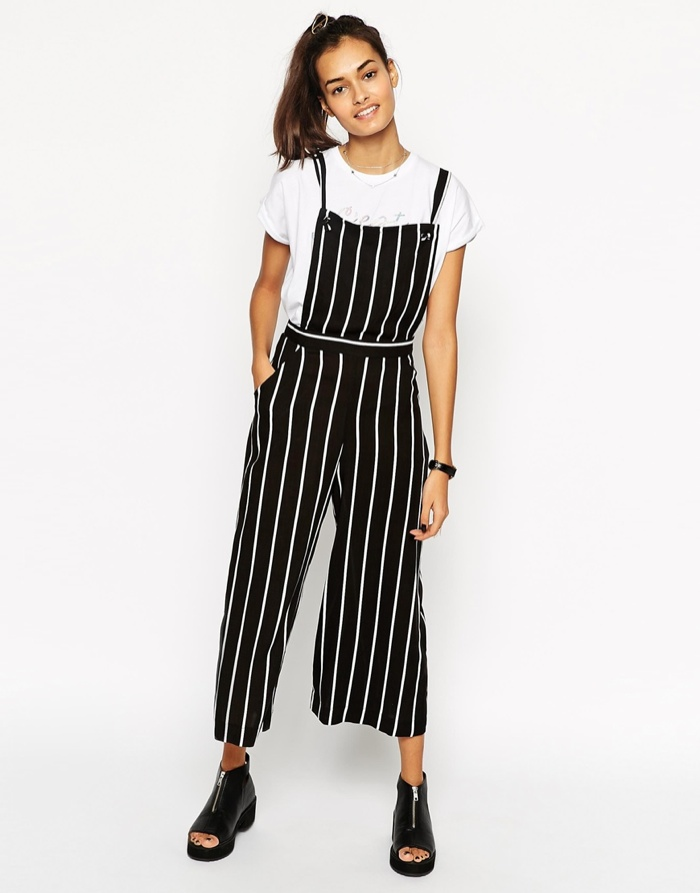 525a7f4c0fc ... ASOS Striped Jumpsuit with Pinafore available for  40.50
