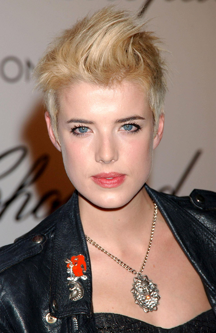 Agyness Deyn Short Hair Blonde