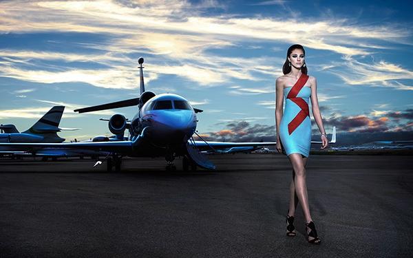 Marine Deleeuw Takes Flight for KOALAWORLD Editorial
